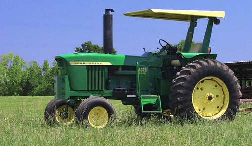 The Chip Foose John Deere 4020 Hot Rod Tractor Sucks Grass