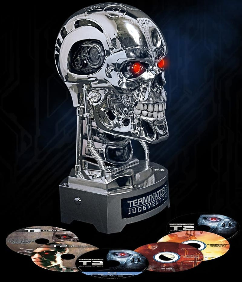 Terminator 2 Complete Collector's Set Proves Technology Is Man's Downfall