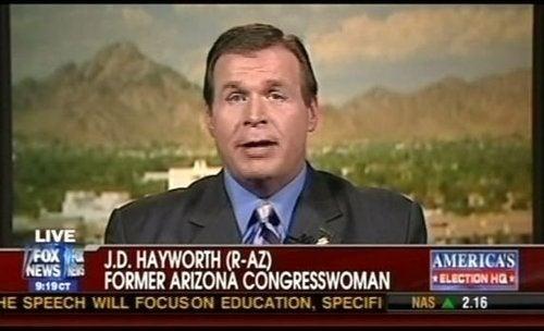 Fox News Calls Disgraced Former Congressman a 'Woman'