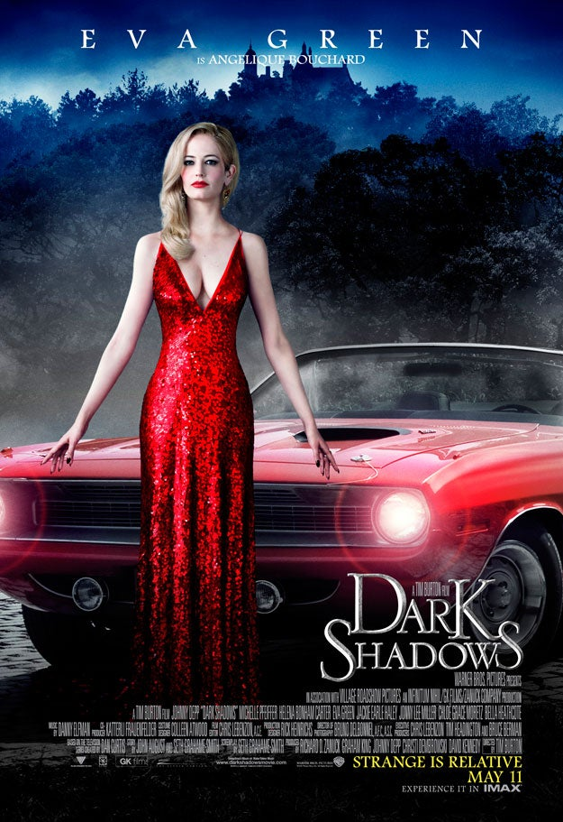 Dark Shadow Character Posters!