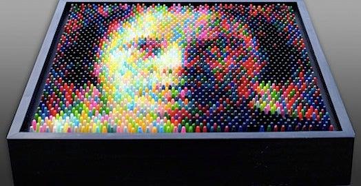 Christian Faur's Crayon Art Will Make You Cross-Eyed