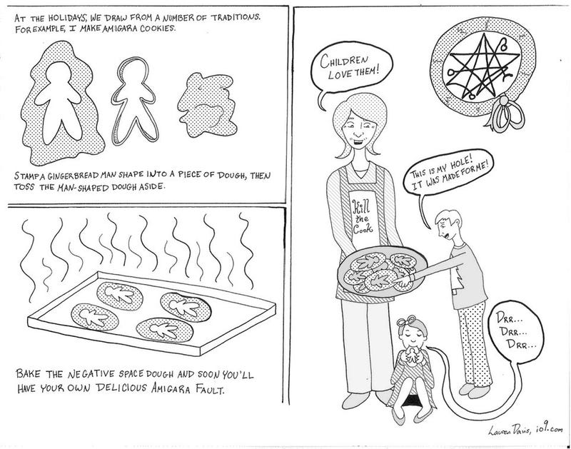 The Cartoon Martha Stewart Guide to a Merry Cthulhumas