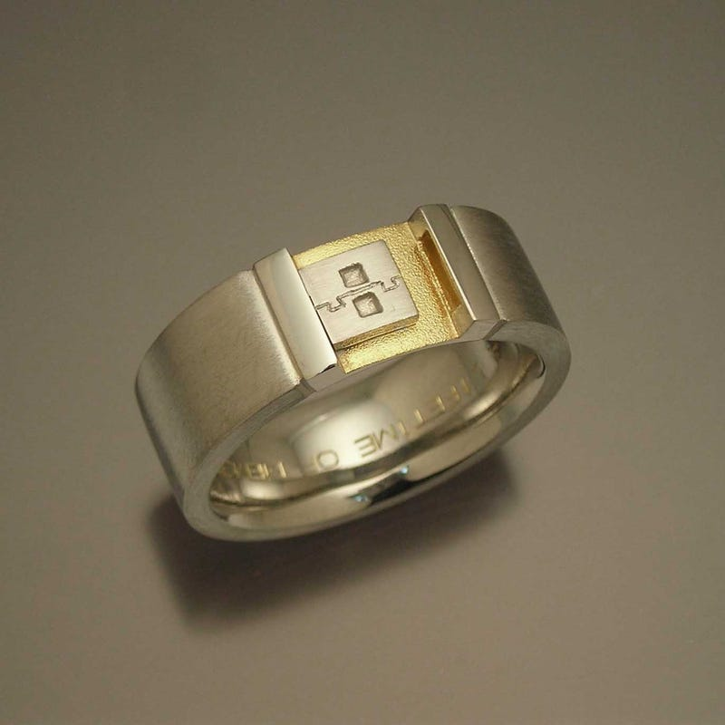 A Nerdy Wedding Ring (Full Of Memories)