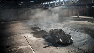Watch This Black Ferrari Enzo Do Gratuitous Donuts In A Warehouse