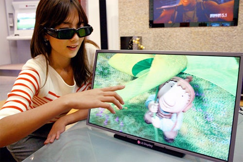 LG Guzzling the Soju After Releasing World's First Commercial Full HD 3D Monitor