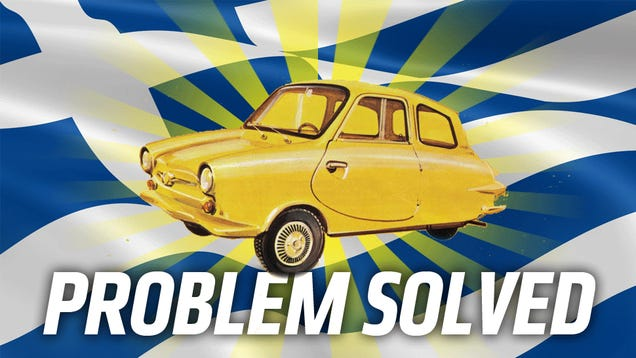 Greece Should Build More Weird Cars Again To Get Out Of Debt