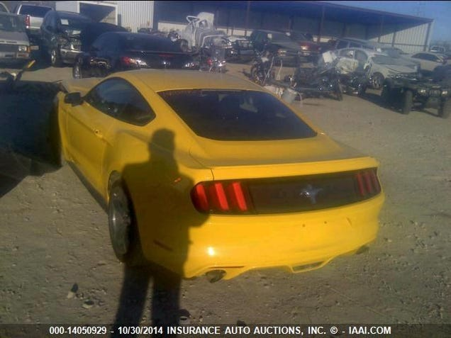 Is This The First Wrecked 2015 Ford Mustang