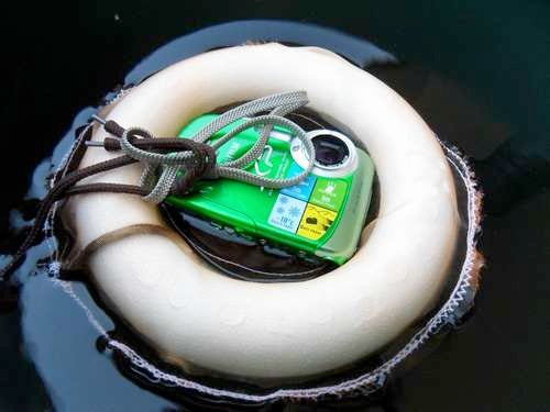 DIY Digital Camera Buoy Keeps Your Camera Afloat