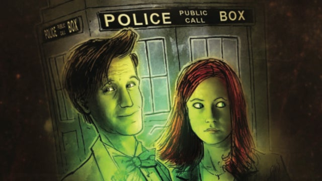 It's Jack the Ripper vs. the 11th Doctor in this sneak peek of the Doctor Who comic