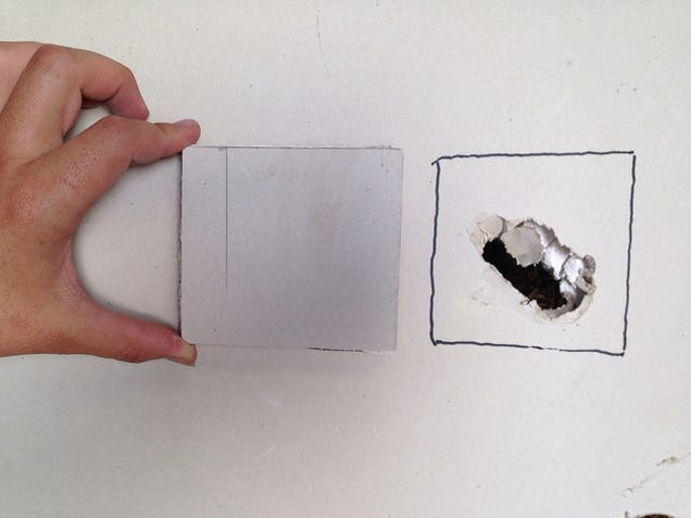 how to patch a hole in drywall. Black Bedroom Furniture Sets. Home Design Ideas