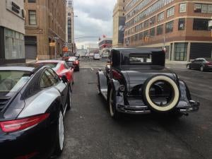 A 1929 Hupmobile in Manhattan and You Will Never Be As Cool As This Guy