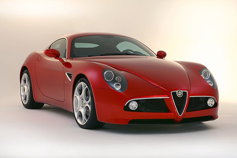 First Alfa Romeo 8C Competitzione Sold In US Parked At New York Train Station?