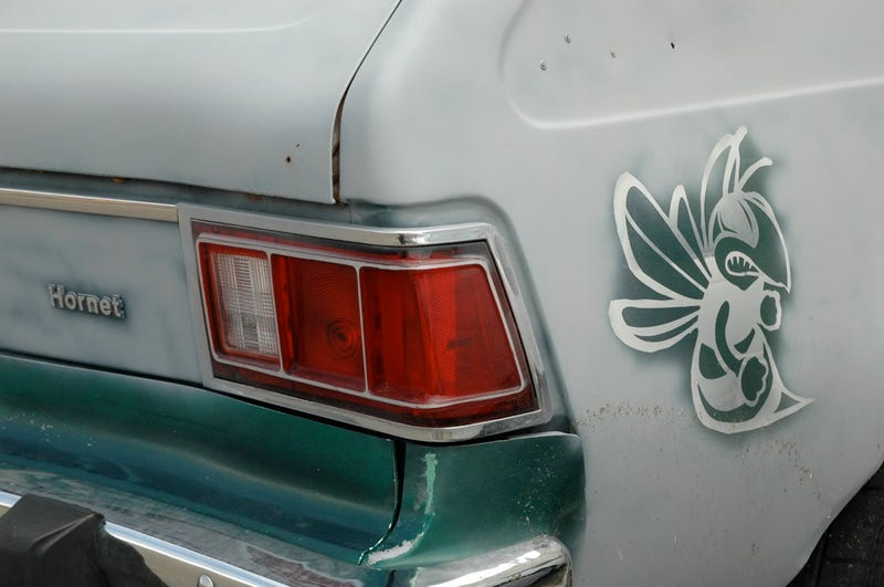 Donked AMC Hornet Sportabout Sports Hella Bass, Truck Nutz