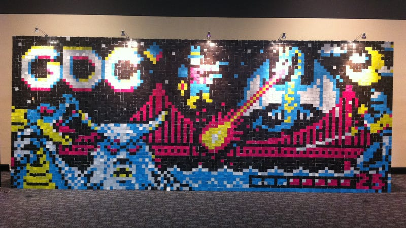 The Pixel Mural With 5,760 Artists