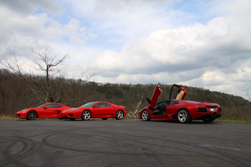 I Took My Ferrari On a 200-Mile Mountain Run With 15 Other Exotic Cars