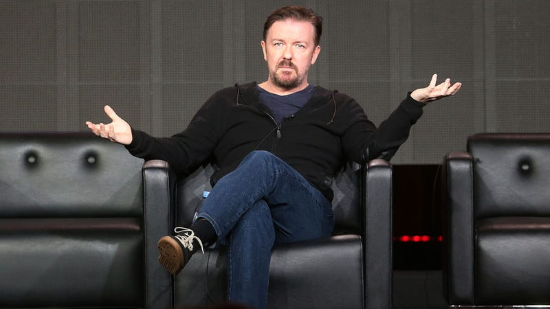 Ricky Gervais Can't Not Be an Asshole