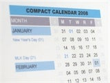 The 2008 Compact Calendar Now Available