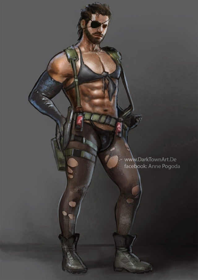 Metal Gear Solid V Made Even More Erotic Thanks to Sexy Fan Art