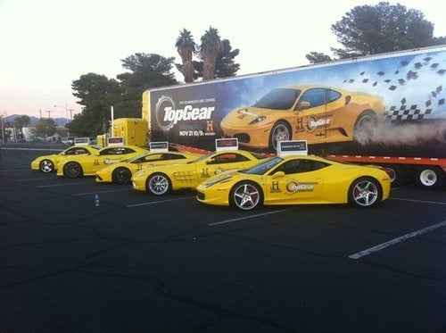 Top Gear Brings Lambo, Ferrari Supercabs To SEMA