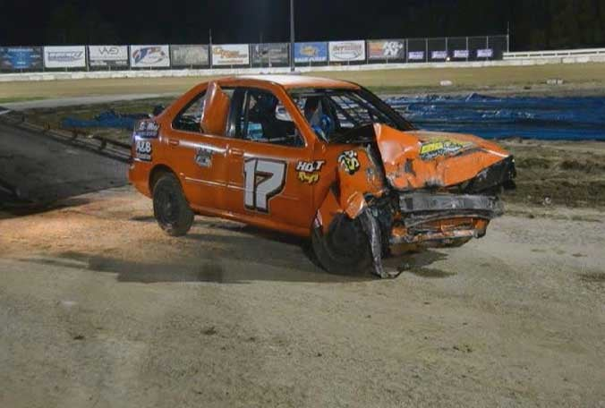 The Driver in this Racing Crash Died. She Was 15.