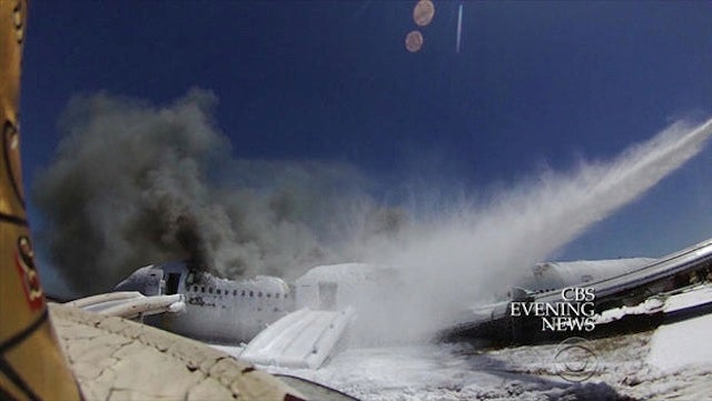New Asiana Crash Footage: Firefighter Saw Girl Before Running Her Over