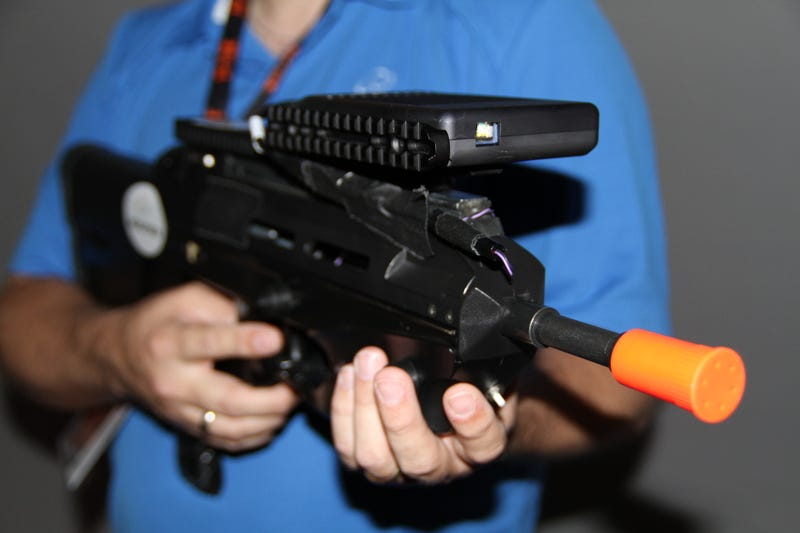 With This Gun, Your First-Person Shooters Can Surround You