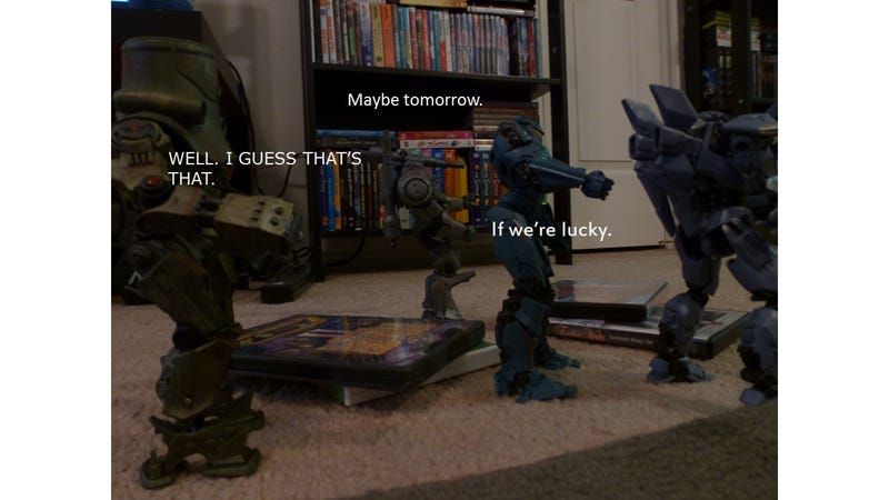 In Which My Jaegers Fight Over Which Movie to Watch