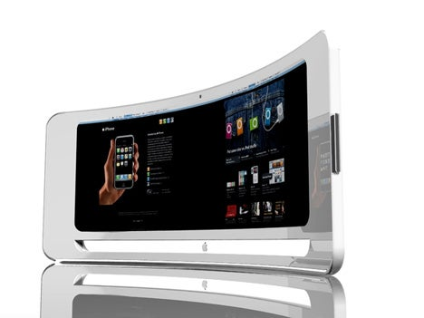 iView Concept Gives iMac a Curvaceous Bod and Second Screen on Backside