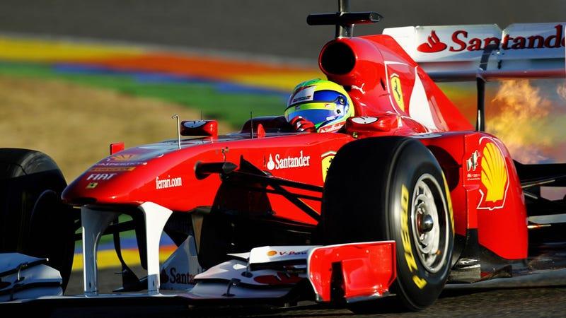 Ferrari rear wing declared illegal by FIA