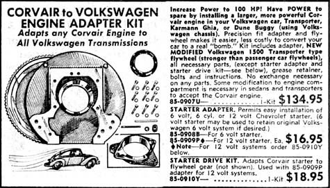 Bolt a Corvair Engine Into Your VW And Make It A Real Bomb!