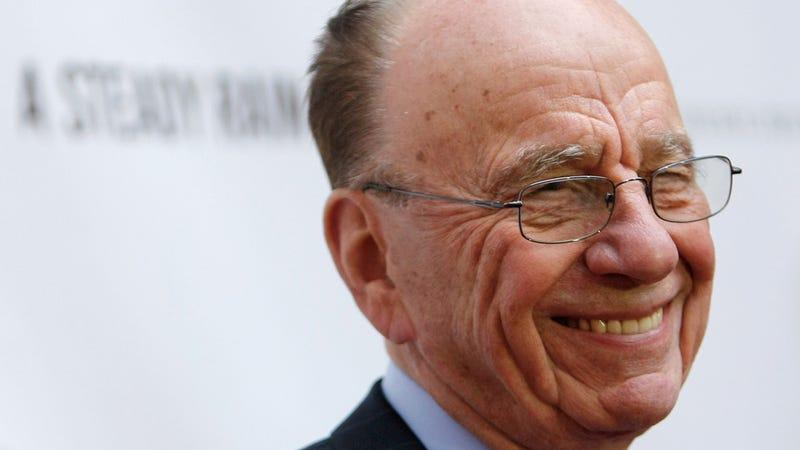 Rupert Murdoch's Facebook Diss