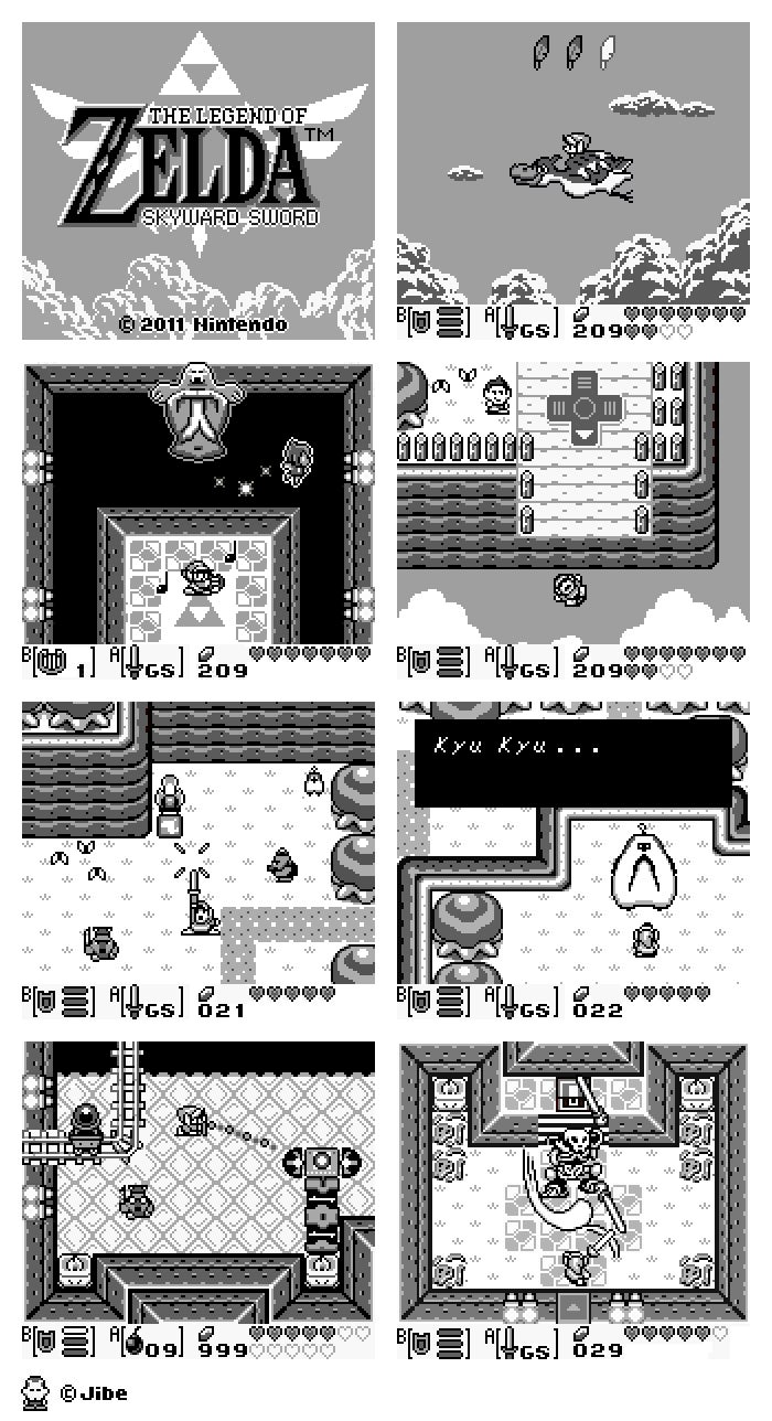 What If Skyward Sword Was a...Game Boy Game!