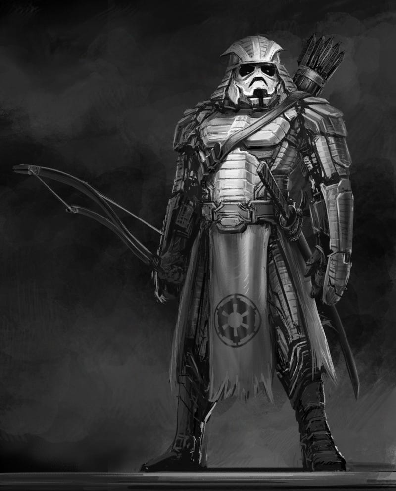 Samurai Star Wars characters, out of a movie too awesome to exist