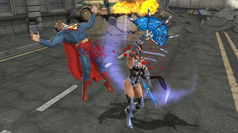 New Mortal Kombat vs DC Screens