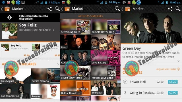 Google Music Store Screen Shots Surface Ahead of November 16 Announcement
