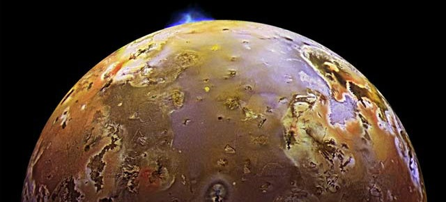 Watch a 200-mile-high volcano explosion on the surface of Io