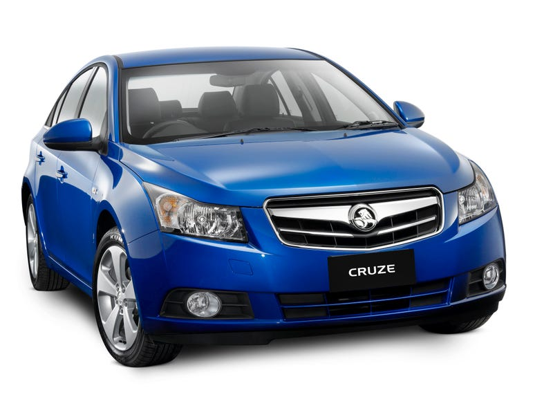 2009 Holden Cruze: Econobox Heads Down Under