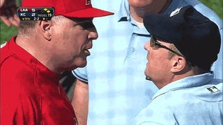 A Lip Reader Deciphers The Manager-Umpire Arguments Of 2013