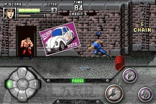 Double Dragon Is Going To Beat Up Your iPhone