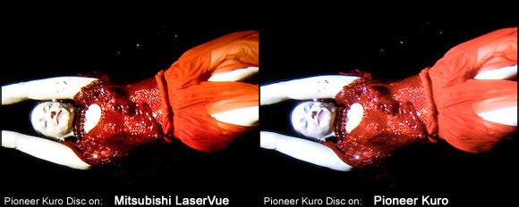 Mitsubishi LaserVue vs. Pioneer Kuro Plasma: The High-End Throwdown
