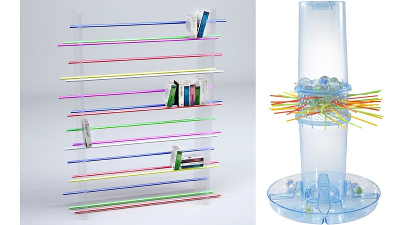 Is This Modern Shelf Just a Rip-Off of KerPlunk?