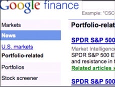 Google Finance Re-Designs for More Real-Time Data