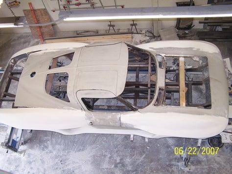 More V7 Super Coupe Build Shots