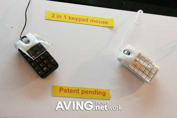EzKEY Keypad Mouse, for Number Crunchers on the Go