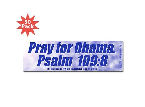 CafePress Is Officially Cool with Selling T-Shirts Urging People to Pray for Obama's Death