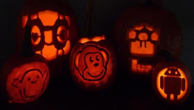 Check out these geeky jack-o-lantern templates and submit your own