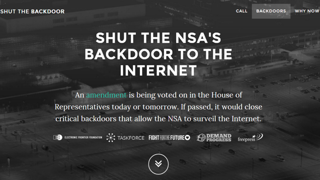 Help Stop NSA Mass Surveillance with a Quick Call to Congress Today
