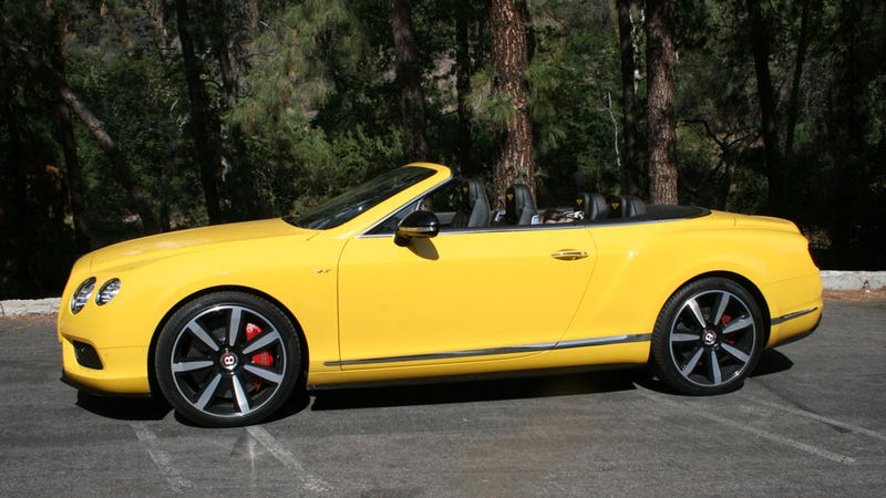 2014 Bentley Continental GT V8S Convertible: Will It Baby?