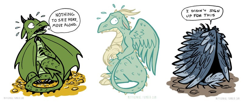 The Dragons Who Hoard Out of Anxiety
