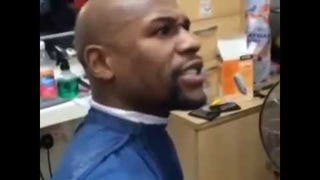 Here's Floyd Mayweather Being A Dick To A Woman In A Barbershop